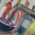 Wine Pour by Donna Tuten