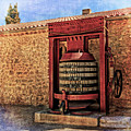 Wine Press Near Narbonne France Dsc01630 by Greg Kluempers