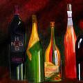 Colors Of Wine by Rhonda Ernst