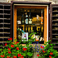 Wine Window by Wolfgang Stocker