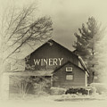 Winery In Sepia by Tom Gari Gallery-Three-Photography