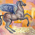 Winged Horse by Filip Mihail