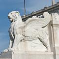 Winged Lion by Fabrizio Ruggeri
