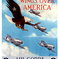 Wings Over America - Air Corps U.s. Army by War Is Hell Store