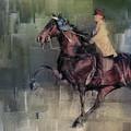 Winner Tennessee Walking Horse Art by Jai Johnson