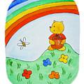 Winnie The Pooh  by Irina Sztukowski