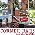 Winona Mn Corner Bars Collage by Kari Yearous