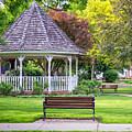 Winona Photo Windom Park Gazebo Spring by Kari Yearous