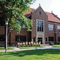 Winona State University Maxwell Side View by Kari Yearous