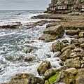 Winspit Cove In Dorset by Pete Hemington