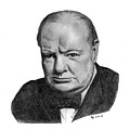 Winston Churchill by Charles Vogan