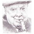 Winston Churchill by James Ath