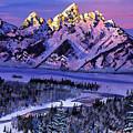 Winter Air by David Lloyd Glover