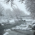 Winter Along Clear Creek by Andrew Terrill