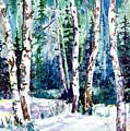 Winter Aspen by Connie Williams