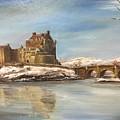Winter At Eilean Donan by Didem Gungor Walker