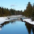 Winter At Hickey Creek by Linda Kerkau