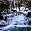 Mill Creek Falls Wv by Kevin Gladwell