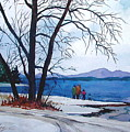Winter At The Lake by Faye Ziegler