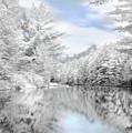 Winter At The Reservoir by Lori Deiter