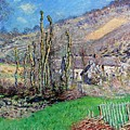 Winter At The Val De Falaise by Claude Monet