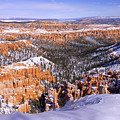Winter Atop Bryce by Chad Dutson