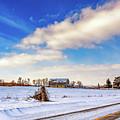 Winter Barn 3 by Steve Harrington
