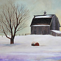 Winter Barn II by Toni Grote