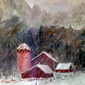 Winter Barns by Marina Petro