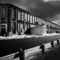 Winter Bates Mill by Bob Orsillo