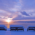 Winter Benches by Idaho Scenic Images Linda Lantzy