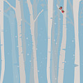Winter Birch by Christal Marshall