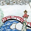 Winter Bridge 1 by Rosemary Mazzulla