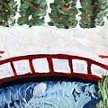 Winter Bridge 2 by Rosemary Mazzulla