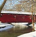 Winter Bridge  by Margie Wildblood
