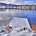 Winter Colors On West Lake by David Patterson