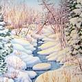 Winter Creek 1  by Inese Poga