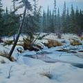 Winter Creek by E Colin Williams ARCA