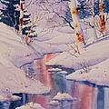 Winter Creek by Teresa Ascone