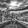 Winter Crossing by Skitterphoto