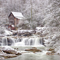 Winter Day At The Mill  by Mike Yeatts