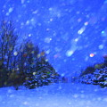 Winter Diamonds by Julie Lueders