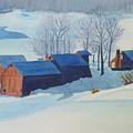 Winter Farm by Ally Benbrook
