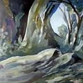 Winter Forest by Hamlet Al Kuti