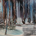 Winter Forest by Larry Hamilton