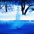 Winter Fountain 2 by David Campbell