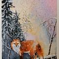Winter Fox by Mona Davis