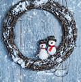 Winter Garland by Amanda Elwell