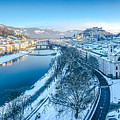 Winter Greetings From Salzburg by JR Photography