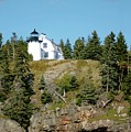 Winter Harbor Lighthouse by Kathleen Struckle
